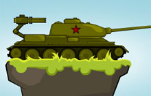 Играть Russian Tank vs Hitler's Army