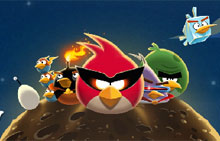 Играть Angry Birds Space